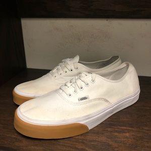 Vans Authentic White/Gum Size 10.5